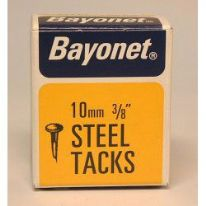 Bayonet Tacks (Fine Cut Steel) - Blue (Box Pack) - 10mm